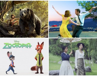Las mejores películas del 2016